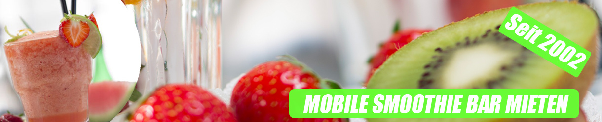 Mobile Smoothie Bar mieten Werne - Vitaminbar Werne